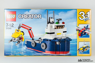 REVIEW LEGO 31045 Creator Ocean Explorer 01