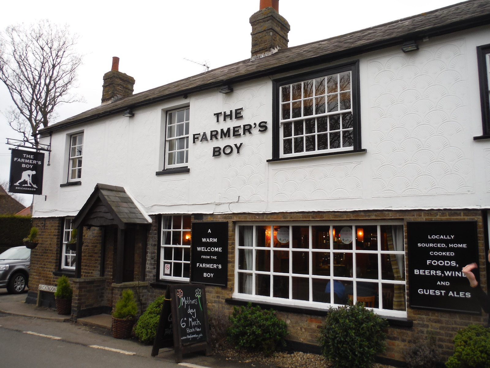 The Farmer's Boy, Brickendon SWC Walk 168 Broxbourne Circular (Bayford Ending)
