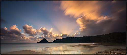 seascape beach sunrise martinique fisher caribbean ourplanet