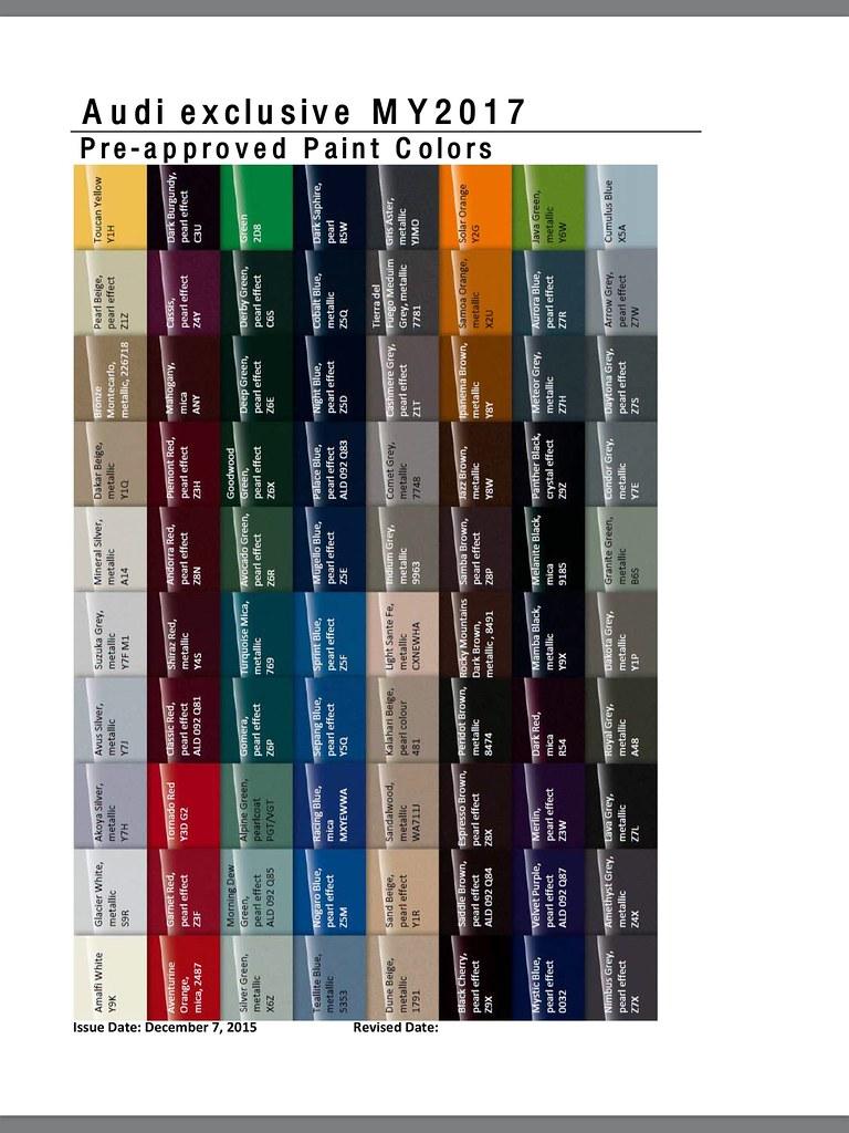 2018 audi exclusive colors. unique colors on 2018 audi exclusive colors