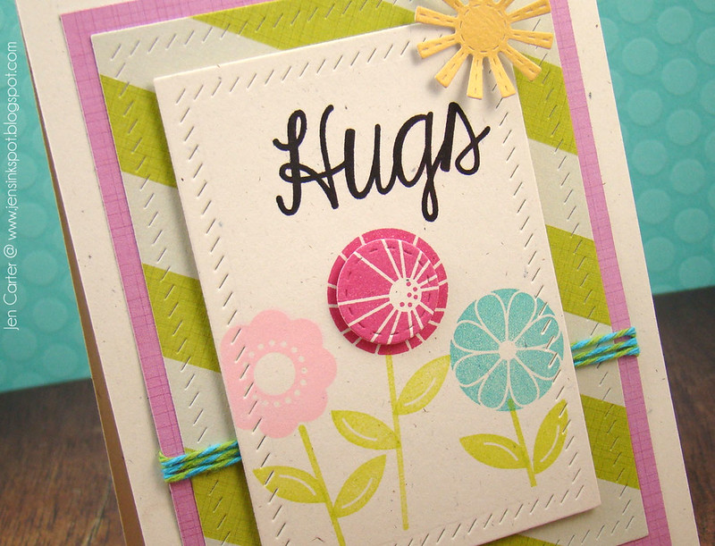 Jen Carter Spot On Spring Hugs Closeup