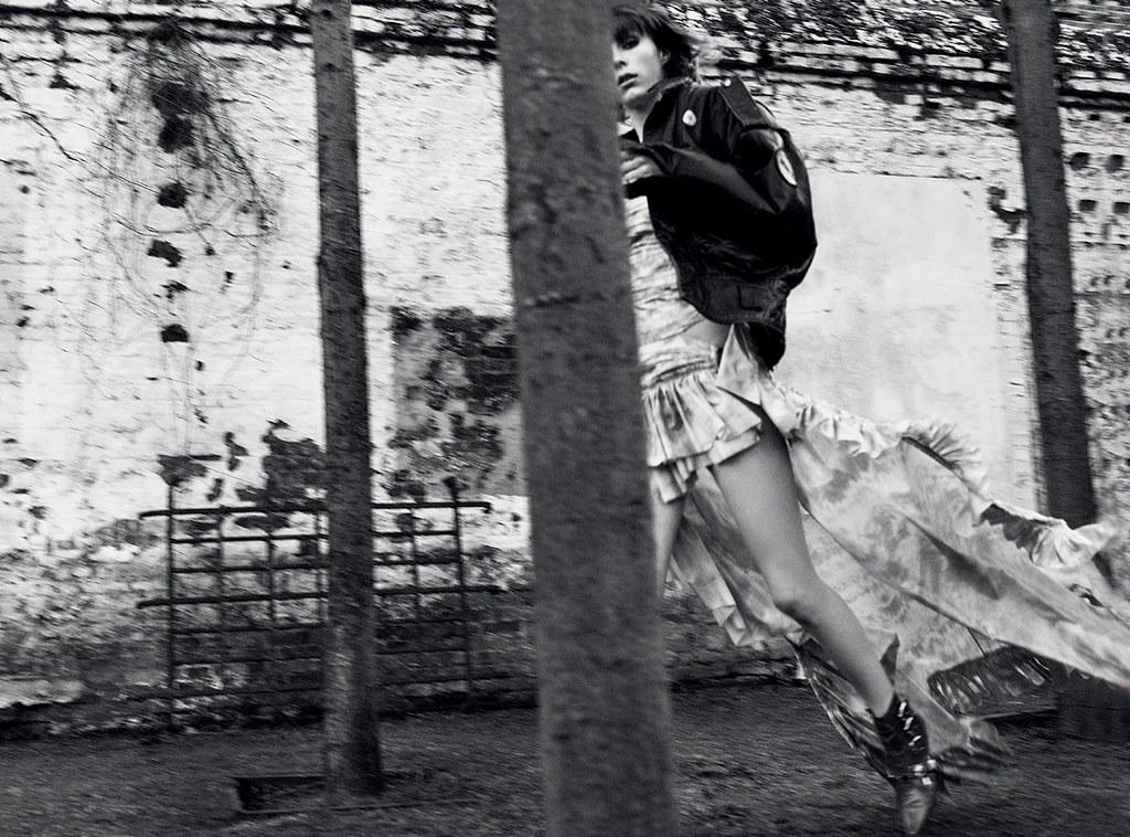 Эди Кэмпбелл — Фотосессия для «Vogue» DE 2016 – 2