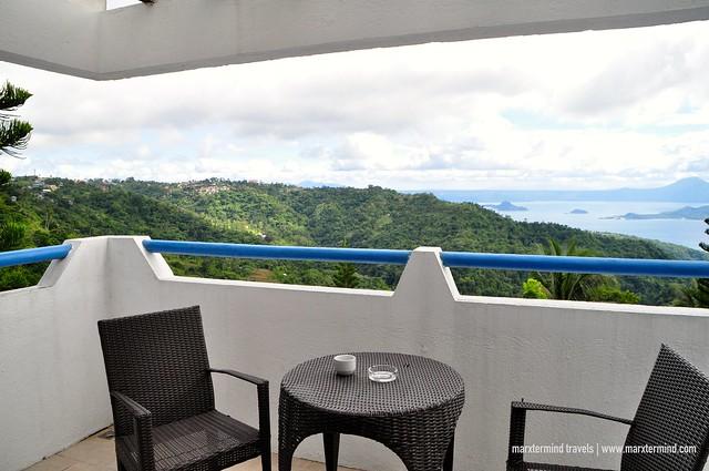 View from Santorini Villa Room Estancia Resort Hotel