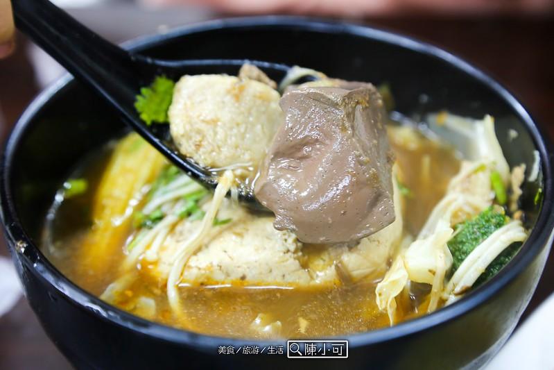 台北小吃︱台北熱炒,阿秋麵線臭豆腐 @陳小可的吃喝玩樂