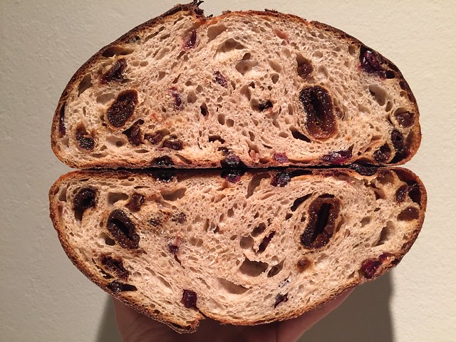 Mixed Dried Fruits Bread