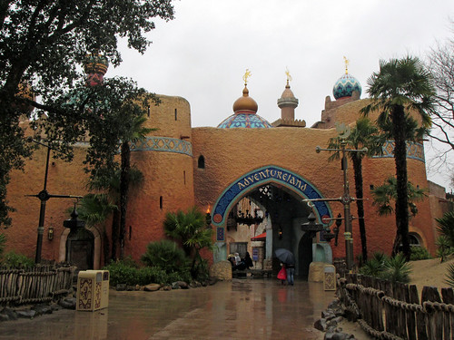 Rainy day in Adventureland