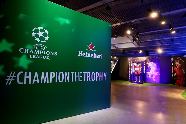 Heineken Champion the Trophy