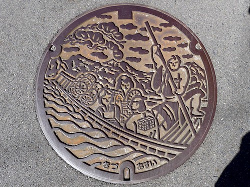 Kizu Kyoto, manhole cover (京都府木津町のマンホール)