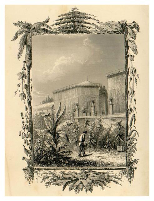 018- Vista de los grandes invernaderos-Le Jardin des Plantes-1842-P. Bernad y otros- Universitè de Strasbourg