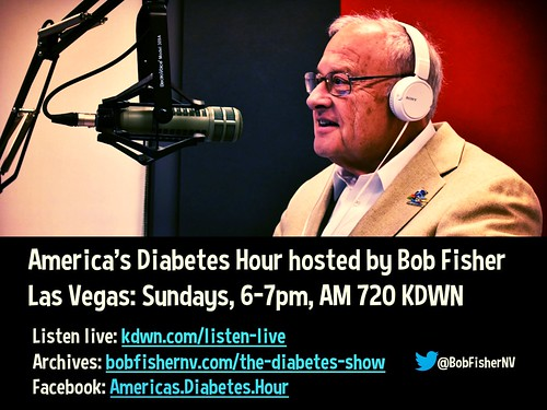 America's Diabetes Hour hosted by @BobFisherNV