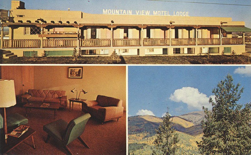 Mountain View Motel Lodge - Taos, New Mexico