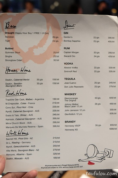 Greyhound Cafe Menu Price