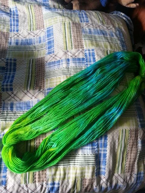Yarn bath III