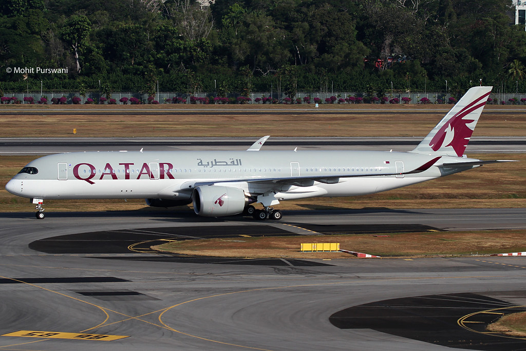 A7-ALH - A359 - Qatar Airways