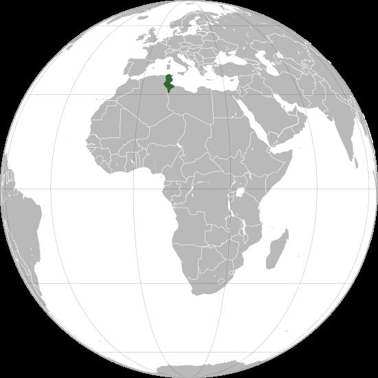 Emplacement stratégique de la Tunisie