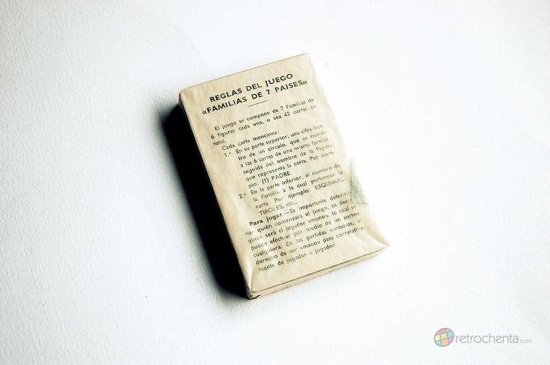 Baraja Familias de los 7 Países - segunda edición - cartas precintadas