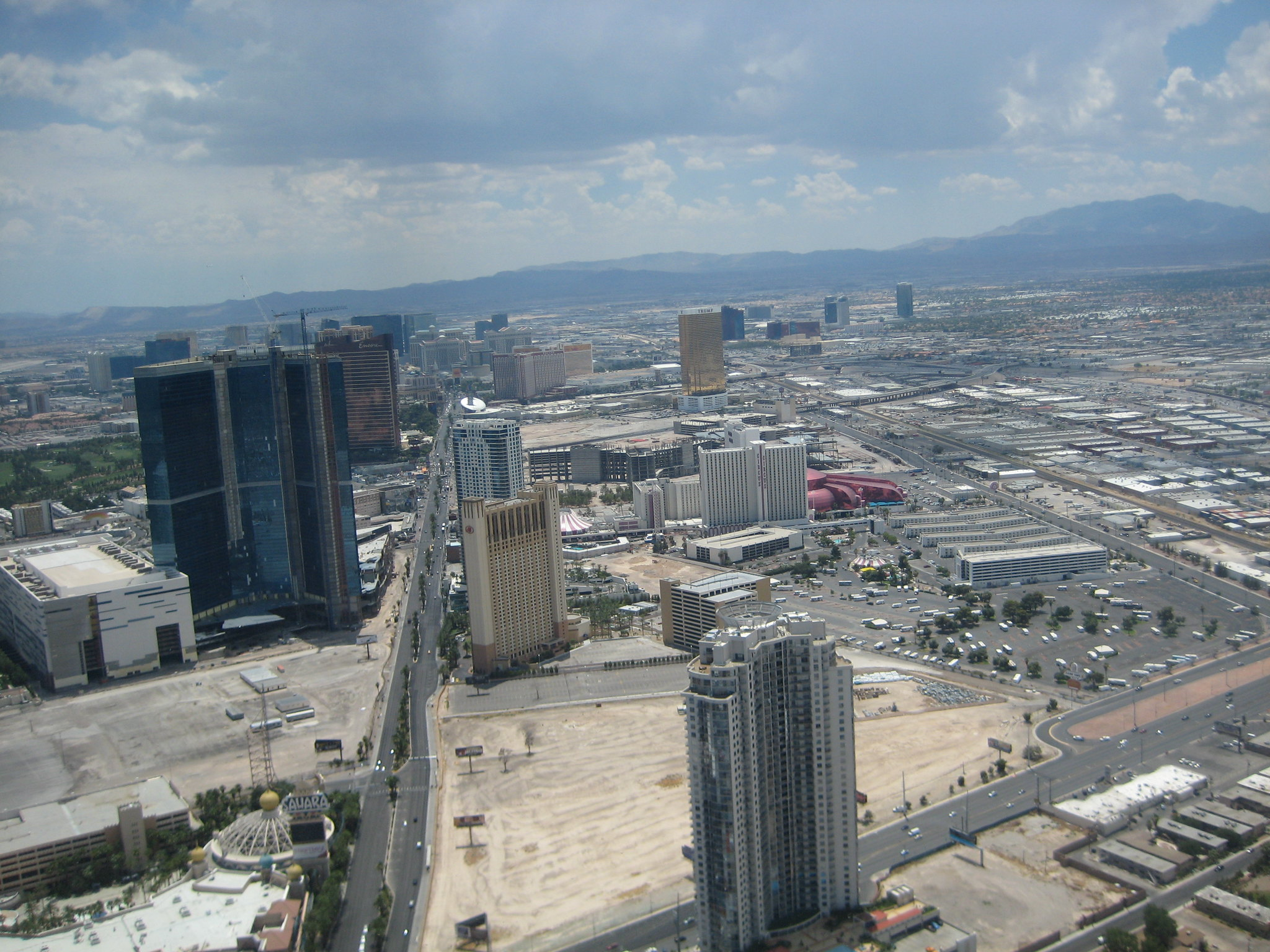 Stratosphere and Las Vegas 001