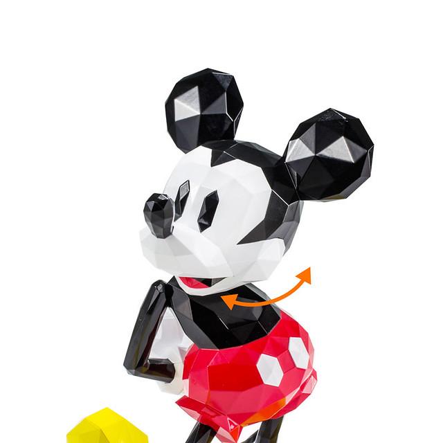 千值練 嶄新系列:多邊型 POLYGO Mickey Mouse