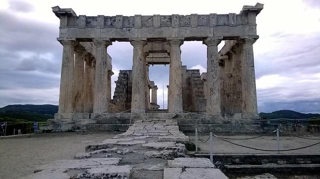 Aphaia temple Aegina foreward
