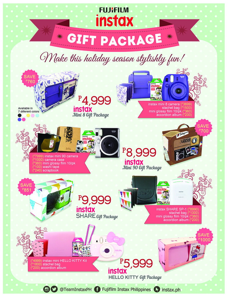 Instax Gift Package
