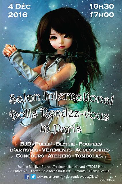 Egerie Doll Rendez Vous 2016 - Paris