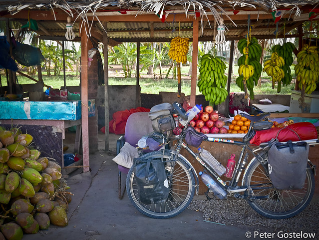 Roadside fruit stall Salalah