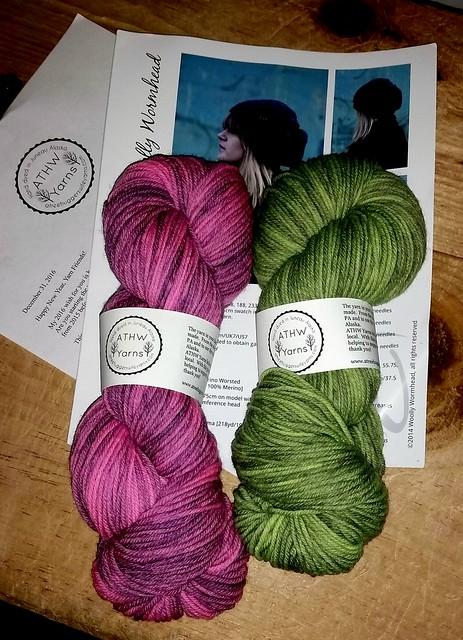 Handdyed Yarn #ATreeHuggersWifeYarns #LapdogCreations