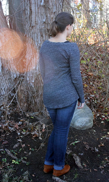 My imperfect but awesome Briar sweater