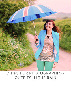 Not Dressed As Lamb | 7 Tips For Photographing Outfits In The Rain