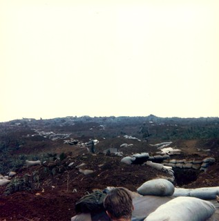 Operation Scotland, Rock Quarry Trench Line, March 1968