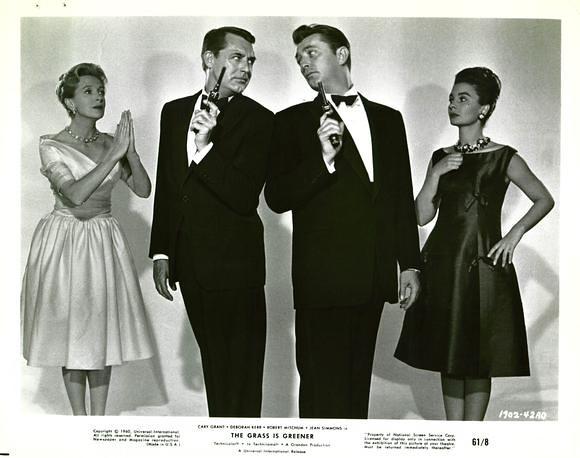 The Grass Is Greener - Promo Photo 4 - Deborah Kerr, Cary Grant, Robert Mitchum, Jean Simmons