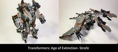 Lego Transformers Age of Extinction- Strafe
