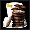 Triple Ginger Dark Chocolate Cookies