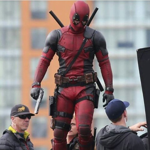 Deadpool - backstage - Ryan Reynolds