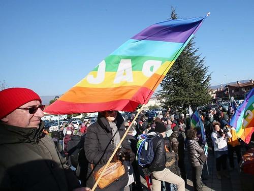Marcia della pace a Caionvico