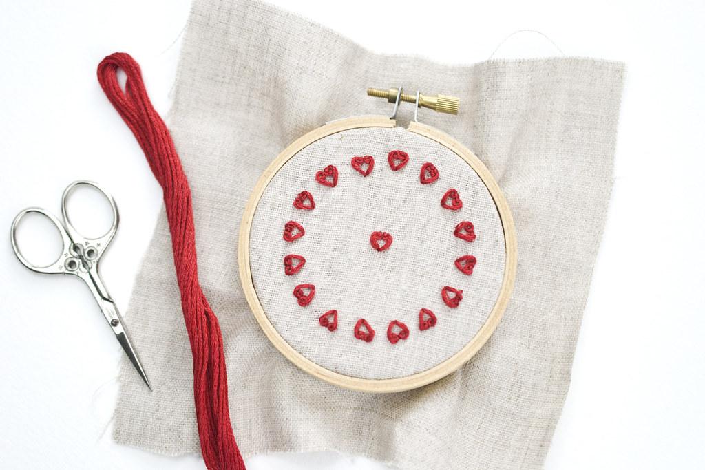 Tiny Heart Stitch