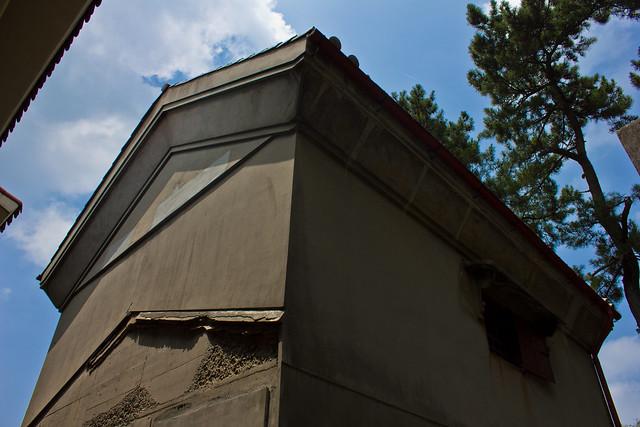 Colonial vault on former Shimatani plantation, Gunsan South Korea