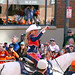 Thunder Leads the Broncos Victory Parade by Sandra Leidholdt
