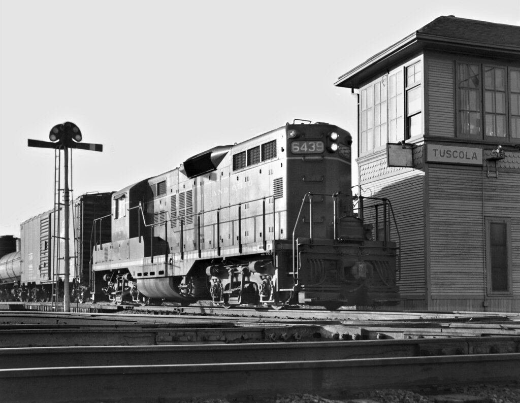 B&O, Tuscola, Illinois, 1959