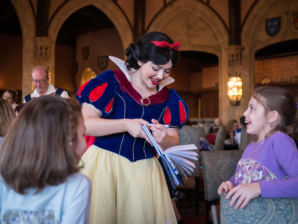Snow White's autograph