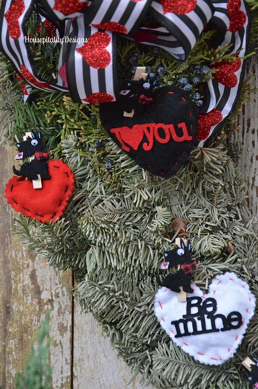 Valentine's Day Wreath - Housepitality Designs