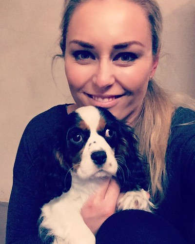 Lindsey Conn and new puppy