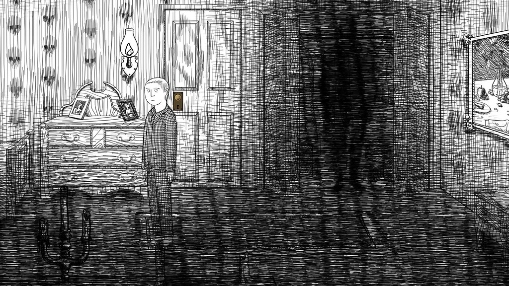 Neverending Nightmares on PS4, PS Vita