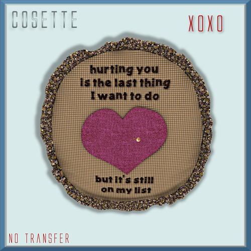 Cosette - XoXo