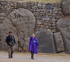 Sacsawaman ruins near Cusco, Peru