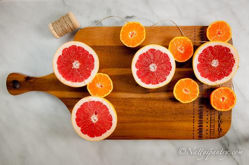 High Vitamin C Grapefruit, Orange, Mango and fresh  Rosemary Smoothie Recipe