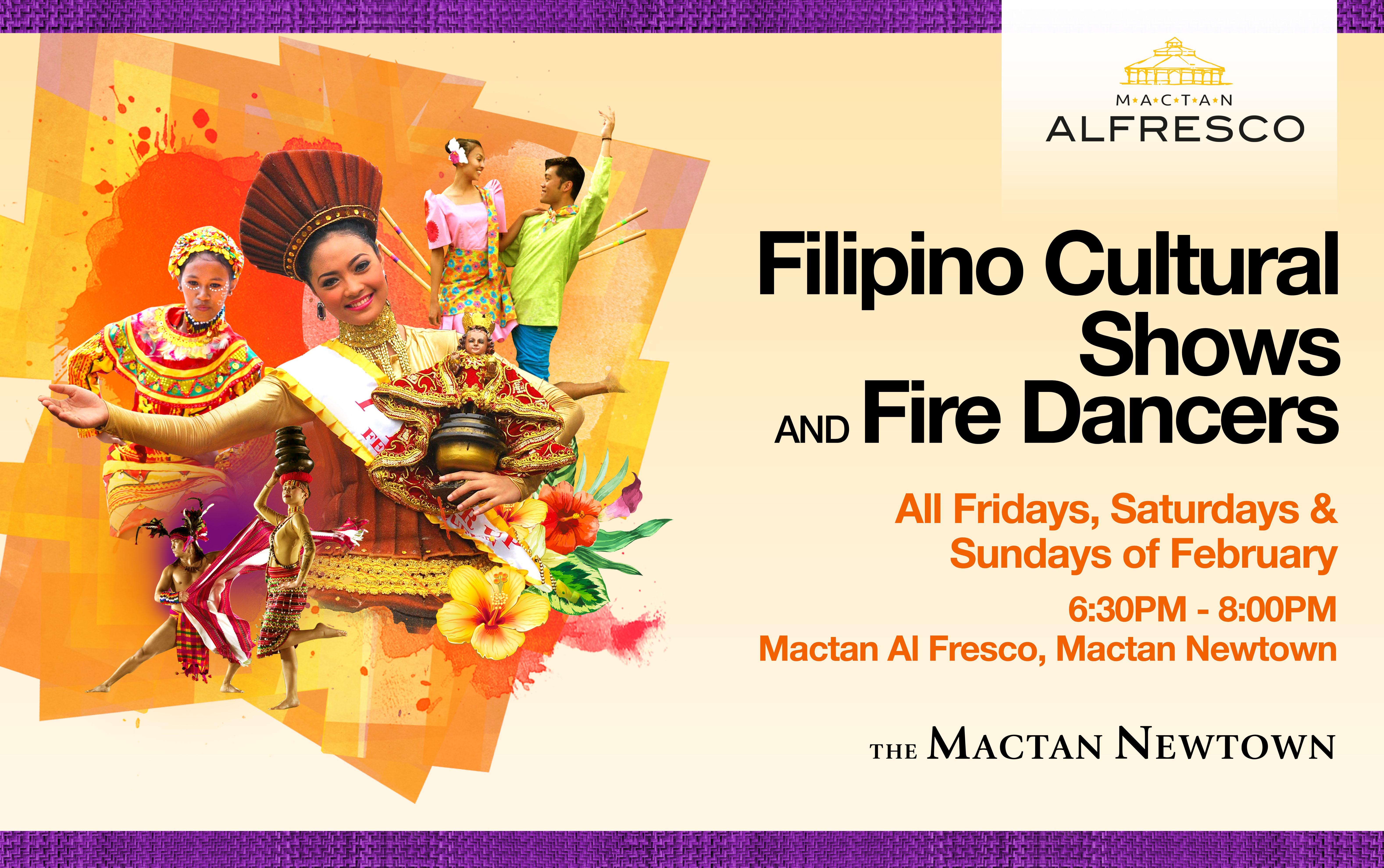 Mactan Newtown Cebu February cultural performances