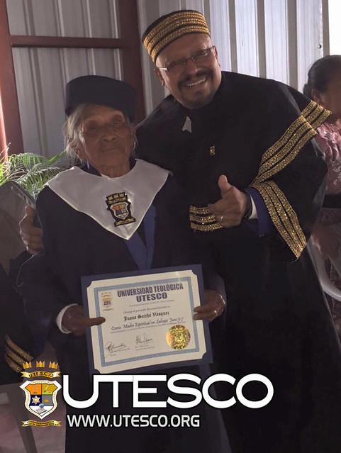 Graduación  14 de febrero en Salcajá,  Quetzaltenango