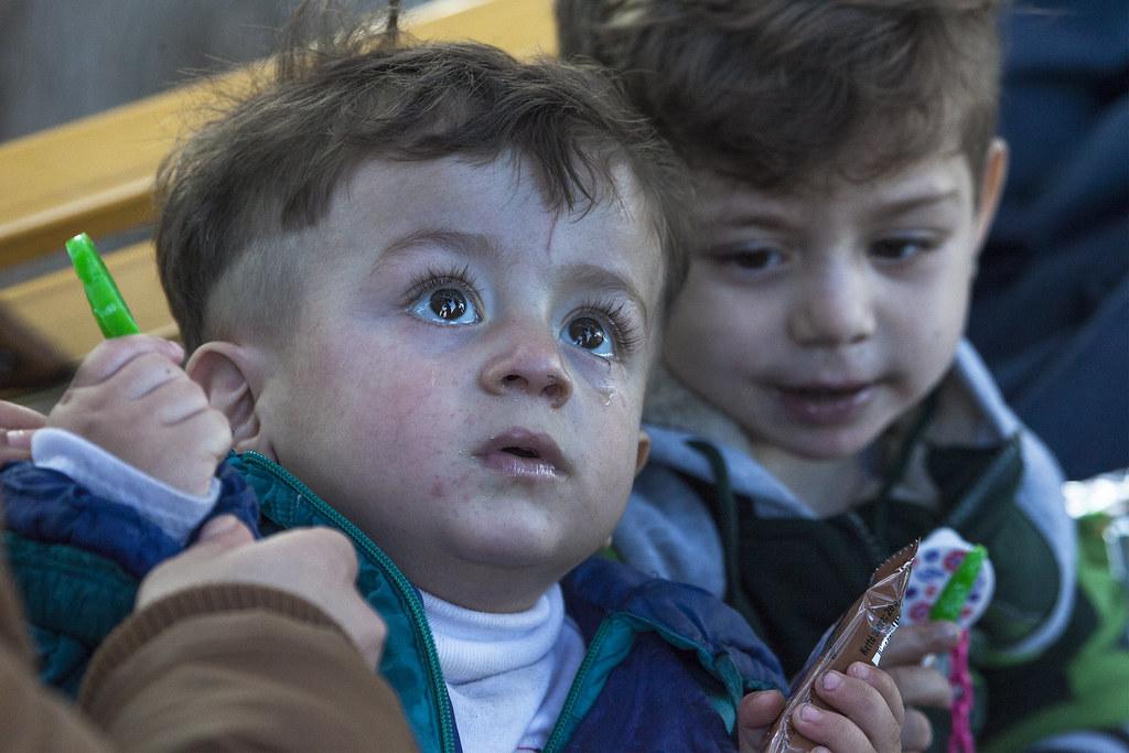 Child Refugees - Lesvos, Greece