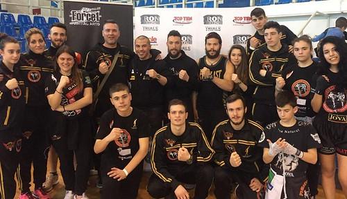 Ιωάννης Θεοφάνους - Μιχάλης Ζαμπίδης - αθλητές Fight Club Galatsi - Iron Challenge Trials - 21 Φεβρουαρίου 2016